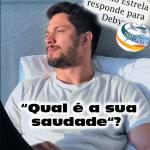Romulo Estrela conta QUAL É A SUA SAUDADE para Debyonline!